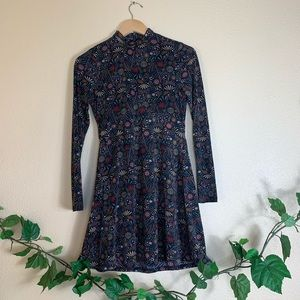 Altair'D State Floral Long Sleeve Dress